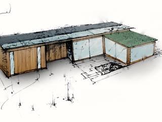 Garten Haus: modern  von Ecologic City Garden - Paul Marie Creation,Modern