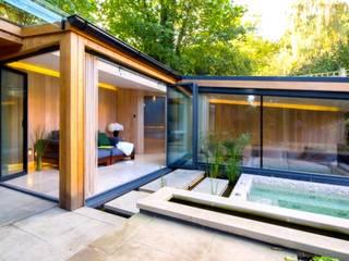 Garten Haus Moderner Garten von Ecologic City Garden - Paul Marie Creation Modern