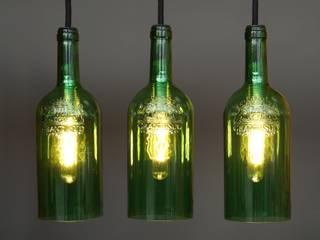 Uniikat.de Dining roomLighting Glass Green