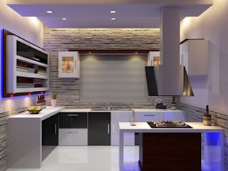 Modern kitchen by Nimble Interiors Modern