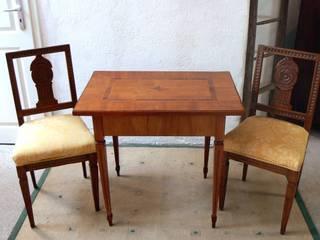 Louis Seize Tisch um 1790 Kirschbaum:   von Schatzkiste