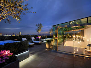 A West London Roof Garden Modern Terrace by Bowles & Wyer Modern