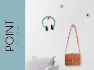 ​POINT Wall Hangers:   por Suricata Design Studio