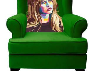 Sessel Portrait Brigitte:   von ¡Colorista Moderna!