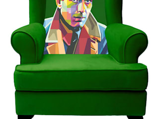 Sessel Portrait Humphrey:   von ¡Colorista Moderna!