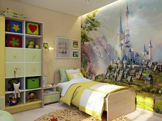 Dormitorios infantiles de estilo minimalista de студия визуализации и дизайна интерьера '3dm2' Minimalista