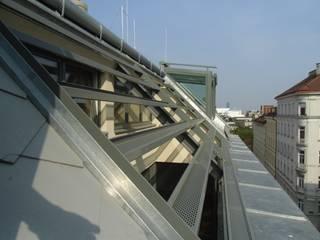 Dachgeschoßausbau und Bauliche Änderungen in den best. Gebäuden:   von Architekt DI Bernd Brandner