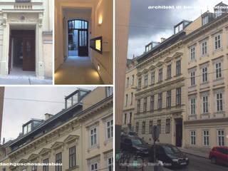 Fassade Rufgasse:   von Architekt DI Bernd Brandner