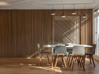Dining room by Agence Glenn Medioni
