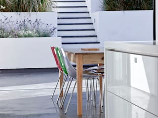 Colchester Kitchen Modern Terrace by Rousseau Modern
