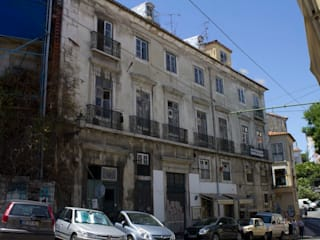 Hello Lisbon Castelo:   por Andre Espinho Arquitectura,Minimalista