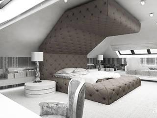 Dormitorios modernos: Ideas, imágenes y decoración de ARTDESIGN architektura wnętrz Moderno