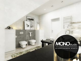 Scandinavian style bathrooms by MONOstudio Scandinavian