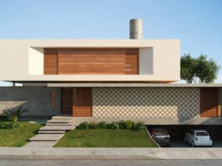 Houses by Martins Lucena Arquitetos, Modern
