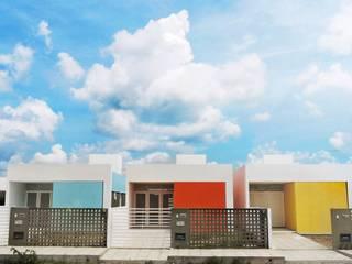 Houses by Martins Lucena Arquitetos