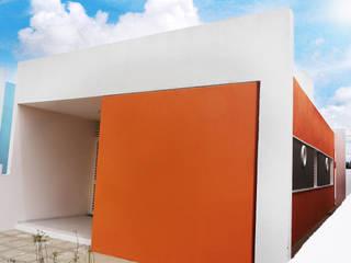 Cidade Feliz A: Casas  por Martins Lucena Arquitetos,Minimalista
