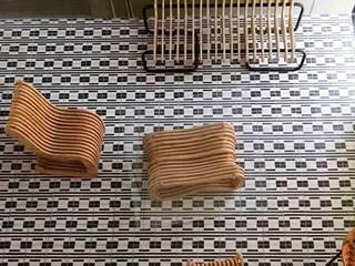 Mosaico Raymundo Sesma Salones modernos de La Fabriquita Moderno
