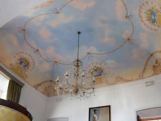 pittura murale su soffitto:  in stile  di Pigmenta arte murale