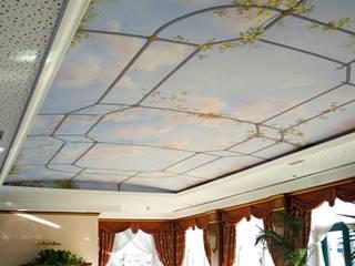 Paisajismo de interiores de estilo  de Pigmenta arte murale