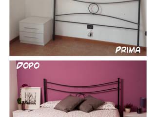 Progetti: Camera da letto in stile  di Centorighe