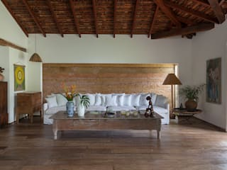 Phòng khách phong cách mộc mạc bởi Vida de Vila Mộc mạc Đồ gốm