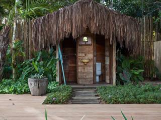Phòng tắm phong cách mộc mạc bởi Vida de Vila Mộc mạc Than củi Multicolored