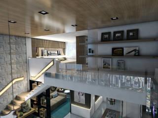 Hành lang theo Ricardo Cavichioni Arquitetura,