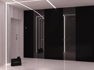 Minimalist Koridor, Hol & Merdivenler QUADRUM STUDIO Minimalist