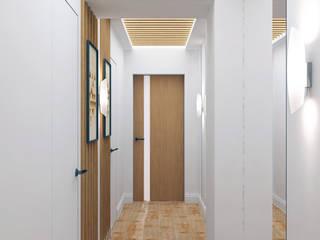 インダストリアルな 玄関&廊下&階段 の QUADRUM STUDIO インダストリアル