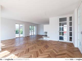 Neubau eines Einfamilienhauses Klassische Wohnzimmer von Lutz und Unglaube Architekten Klassisch