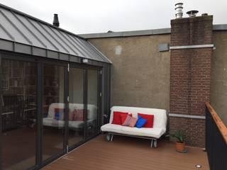 Dakopbouw Amsterdam:  Terras door CG Interior Architecture
