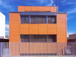 Vivienda Estudio en Tudela: Casas de estilo  de Glaria Estudio Arquitectura SL