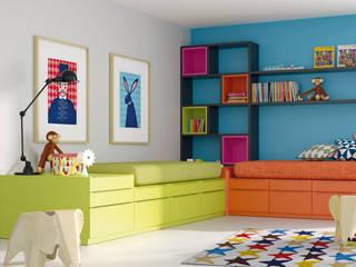 Dormitorios juveniles:  de estilo  de Muebles Rojo