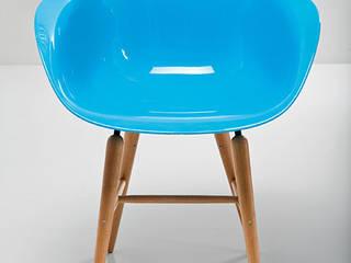 Sillon azul Vintage:  de estilo  de Catalógate