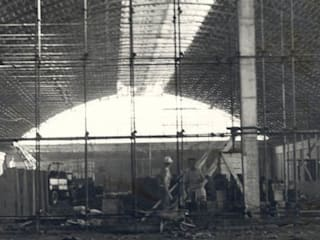 Stabilimento MAREF SPA:  in stile  di Galliera Costruzioni