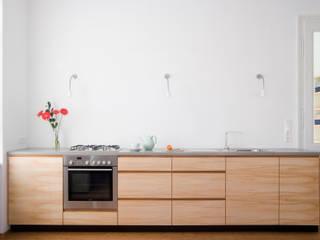Wohnung D. 1200 Wien Moderne Küchen von dietrich + lang architekten Modern
