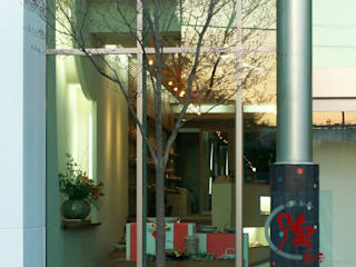 陶器のショールーム モダンな 家 の アンドウ設計事務所 モダン
