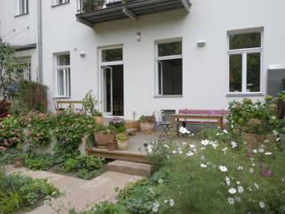 Wohnung K., 1040 Wien Moderner Garten von dietrich + lang architekten Modern