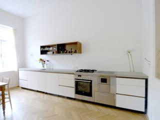 Wohnung K., 1040 Wien Moderne Küchen von dietrich + lang architekten Modern