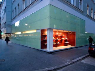 Geschäftshaus Lotteraner Moderne Häuser von dietrich + lang architekten Modern