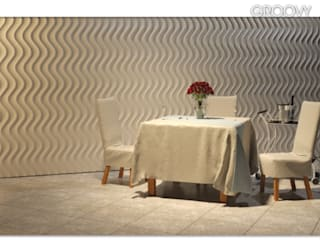 Wall Panels 3D - Dunes by DecoMania.pl Сучасний