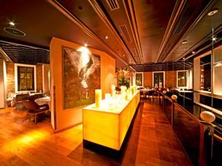 W HOTEL İSTANBUL LOUNGE, RESTAURANT ve MİNYON CAFE DÜZENLEME PROJESİ Paspartu Mimarlık Modern