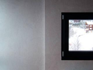 Das Holzhaus: ausgefallene Wohnzimmer von Farbica