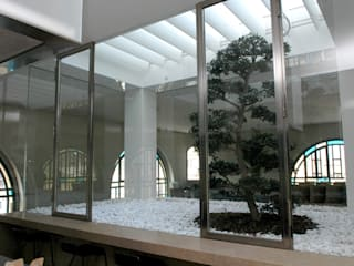 loft HH: Giardino d'inverno in stile in stile Moderno di AG&F architetti