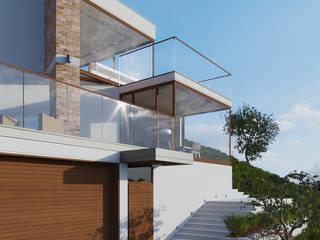 Dom jednorodzinny / Epalinges, Szwajcaria: styl , w kategorii Domy zaprojektowany przez Absens architekci