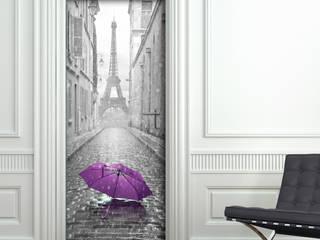 Crearreda Pencere & KapılarKapılar Ahşap-Plastik Kompozit Mor