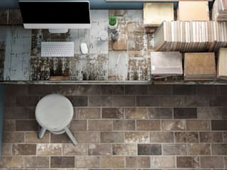 de estilo industrial por Ceramica Rondine, Industrial