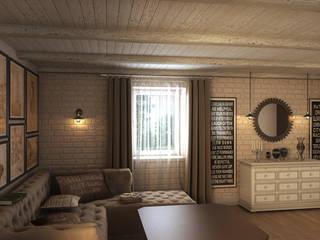 Уют прованса: Гостиная в . Автор – Art Style Design