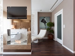 The Relax Corner Modern Bedroom by Movelvivo Interiores Modern