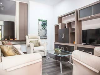 LOFT ISLA SALVORA_1 #LOFTOBD3 Salones de estilo moderno de Mohedano Estudio de Arquitectura S.L.P. Moderno